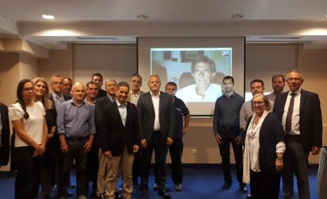 Η 1η Συνεδρίαση της νεοσύστατης Επιτροπής Βορείου Ελλάδας ΕΕΔΣΑ στην Θεσσαλονίκη.