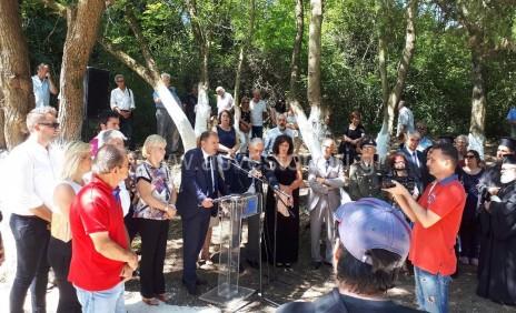 Μνημόσυνο στο Ασβεστοχώρι για τους εκτελεσθέντες του Ιουλίου του '44