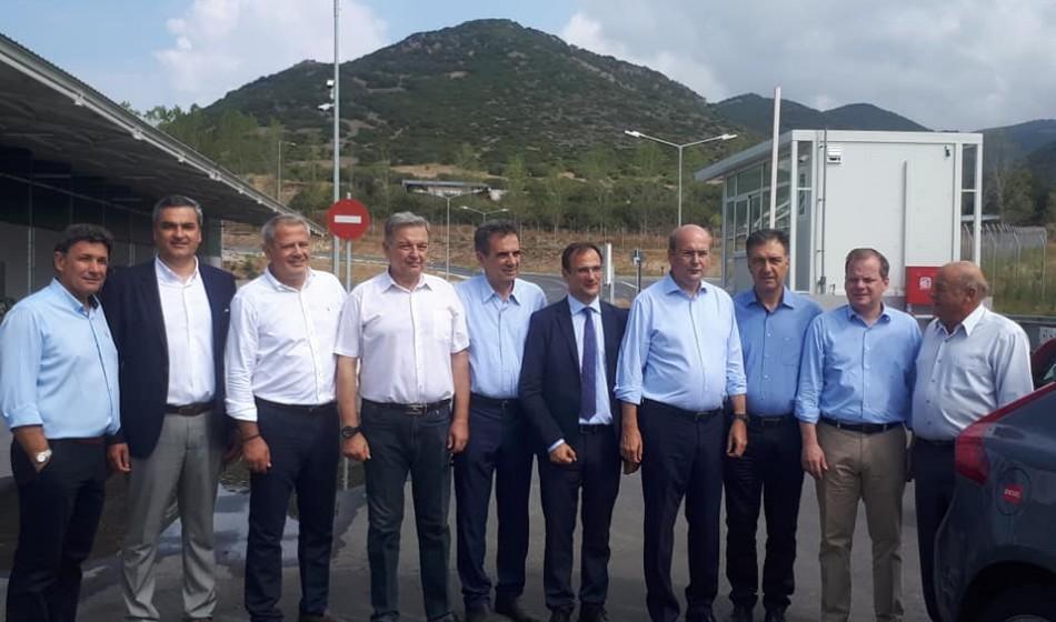 Επίσκεψη του Υπουργού Περιβάλλοντος και Ενέργειας στο Μ.Ε.Α. Σερρών